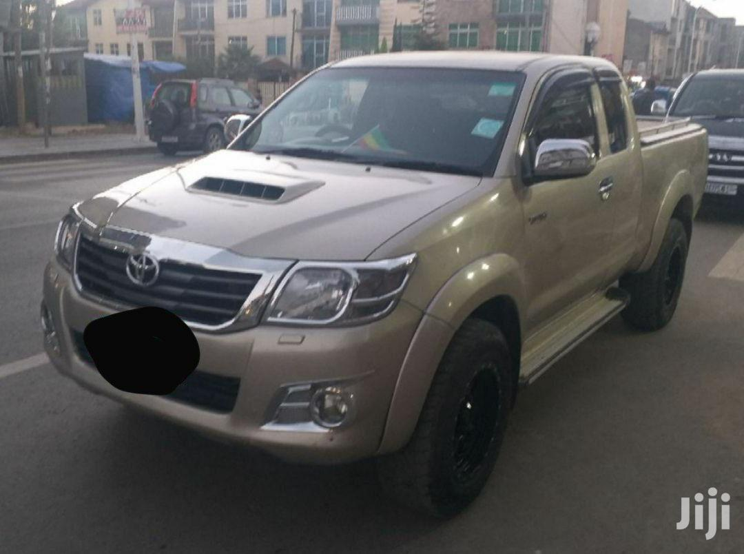 Archive: Toyota Hilux 2013 Gray
