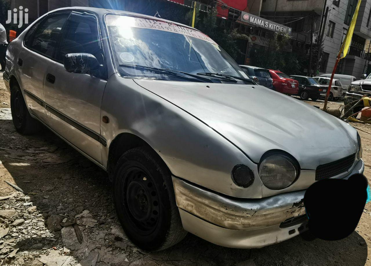 Archive: Toyota Corolla 1994 Silver
