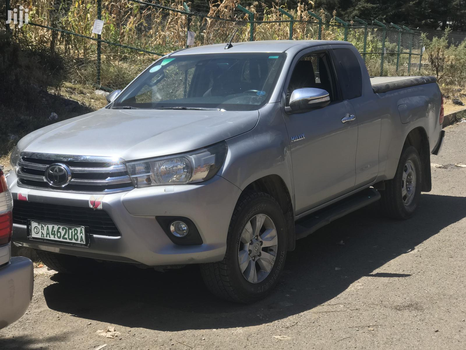 Archive: Toyota Hilux 2017 Silver