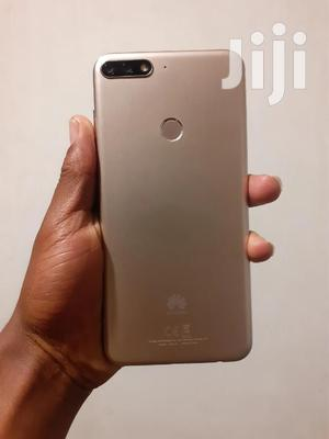 Huawei Y7 Prime 32 GB Gold   Mobile Phones for sale in Addis Ababa, Akaky Kaliti