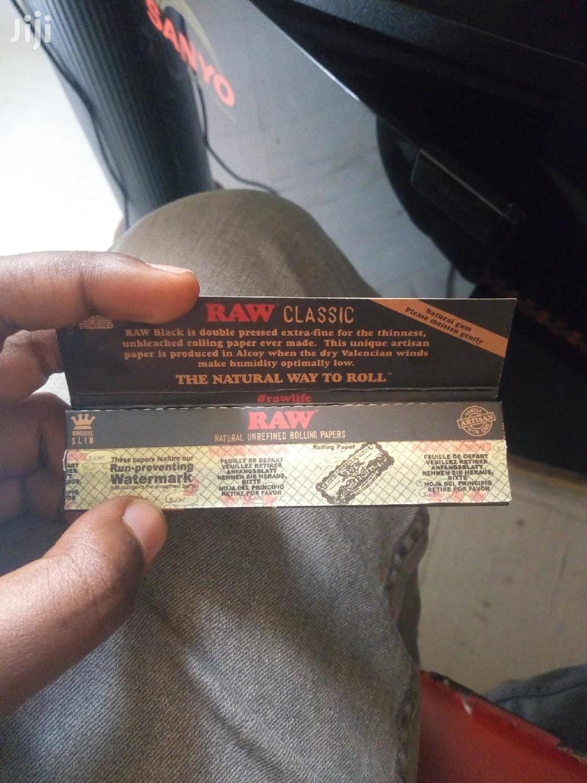 RAW Rolling Paper | Tobacco Accessories for sale in Bole, Addis Ababa, Ethiopia