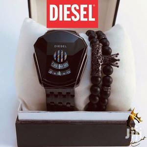 DIESEL WATCH + Bracelets   Watches for sale in Addis Ababa, Bole