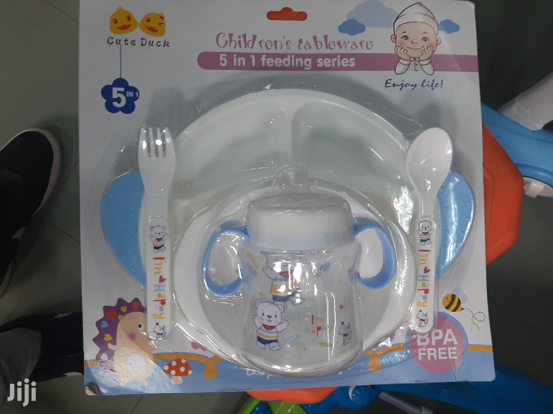 የህጻናት መማገቢያ 5 በ 1 Children Tableware 5 In 1 | Babies & Kids Accessories for sale in Yeka, Addis Ababa, Ethiopia