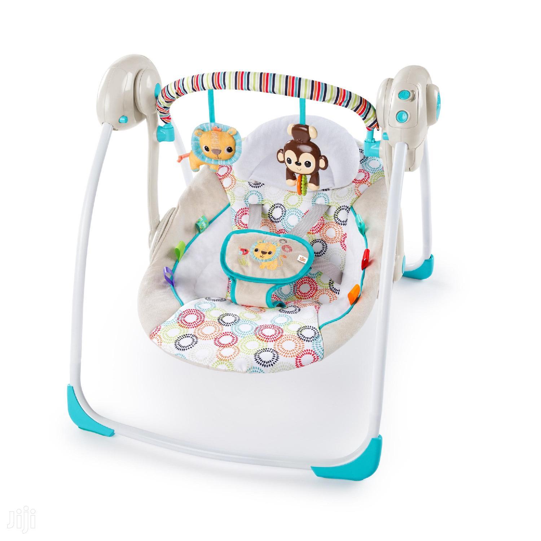 የህፃናት ማንዥውዥዋያ 11 ኪሎ Portable Swing With Whisperquiet   Children's Gear & Safety for sale in Yeka, Addis Ababa, Ethiopia