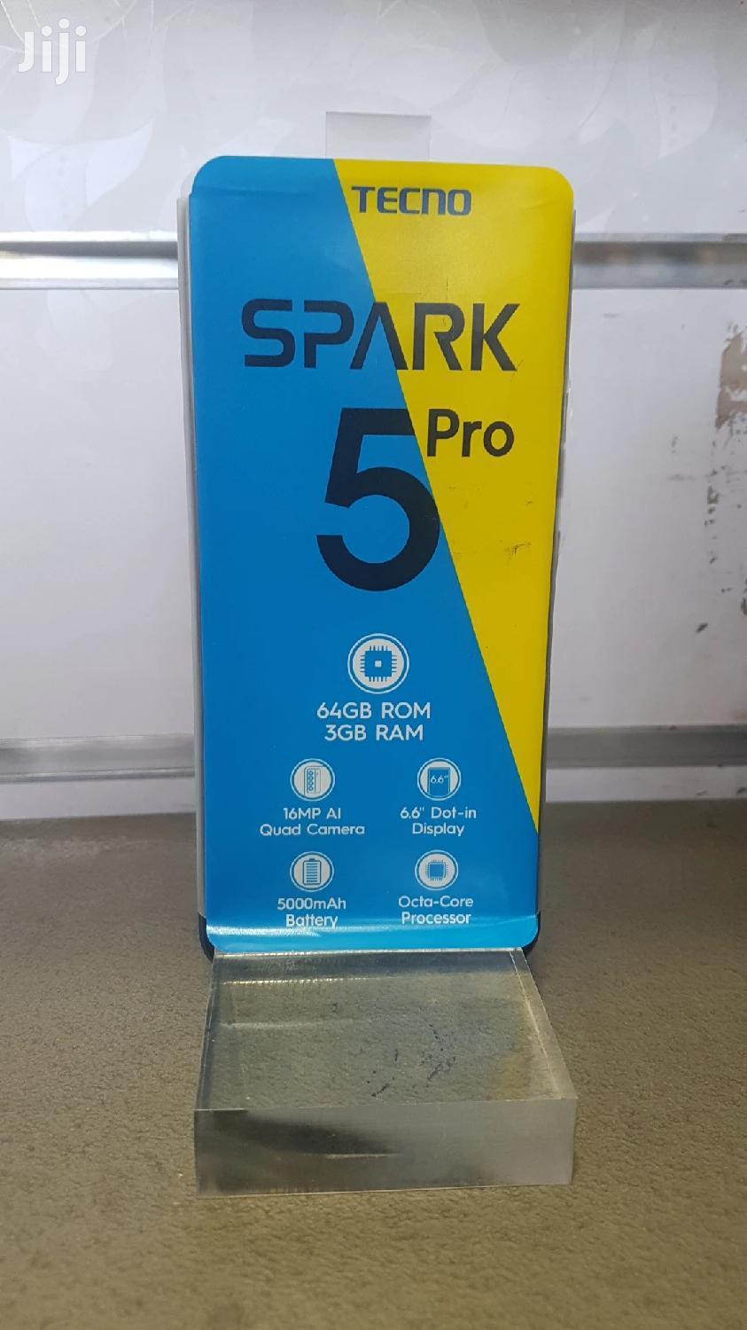 New Tecno Spark 5 Pro 64 GB | Mobile Phones for sale in Kolfe Keranio, Addis Ababa, Ethiopia