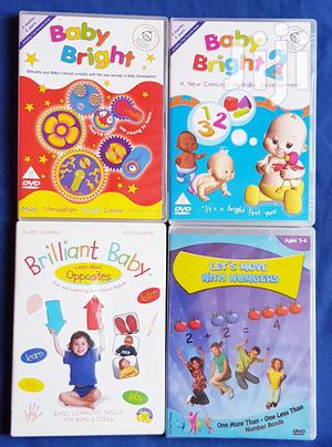 Educational DVD 3month-6years | CDs & DVDs for sale in Addis Ababa, Bole