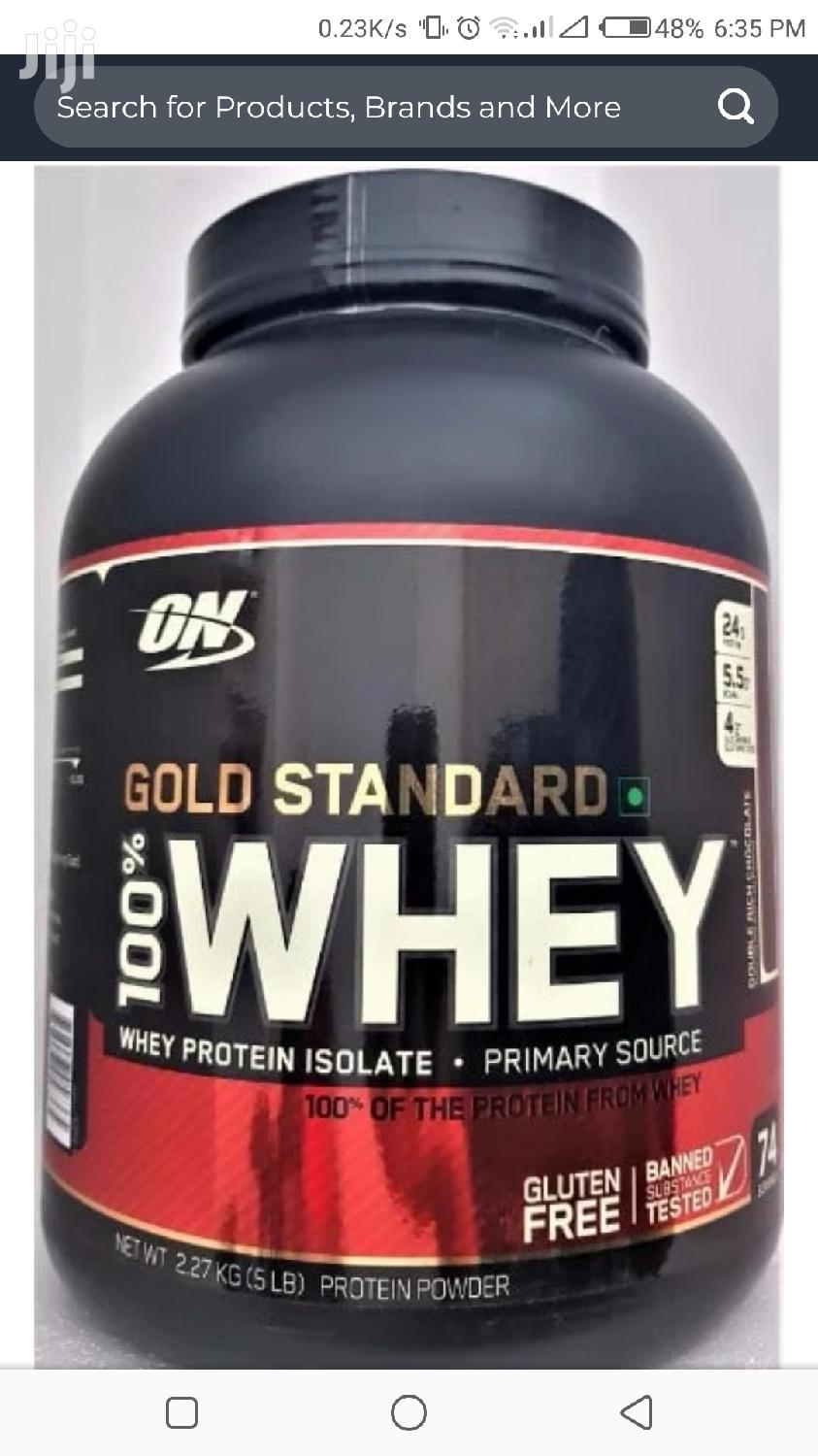 Archive: On Gold Standard 100% Whey