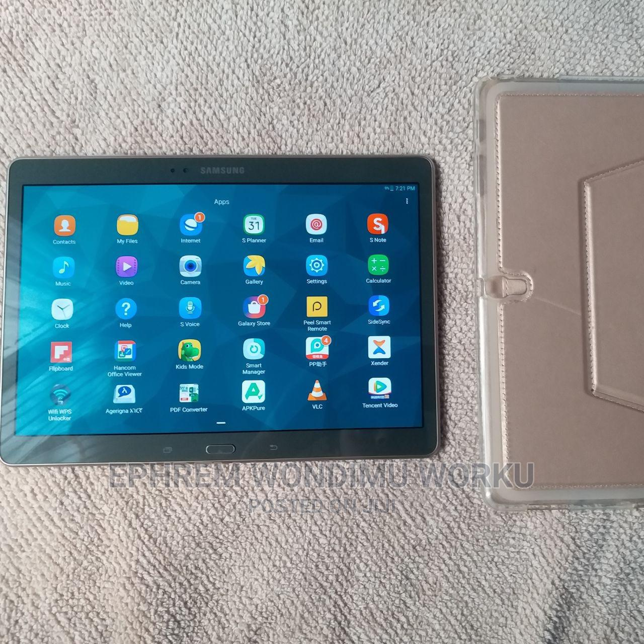 New Samsung Galaxy Tab S 10.5 LTE 16 GB | Tablets for sale in Nifas Silk-Lafto, Addis Ababa, Ethiopia