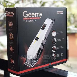 GEEMY Rechargeable Hair Cleeper | Tools & Accessories for sale in Addis Ababa, Bole