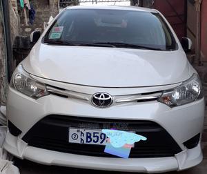 Toyota Yaris 2018 White | Cars for sale in Addis Ababa, Addis Ketema