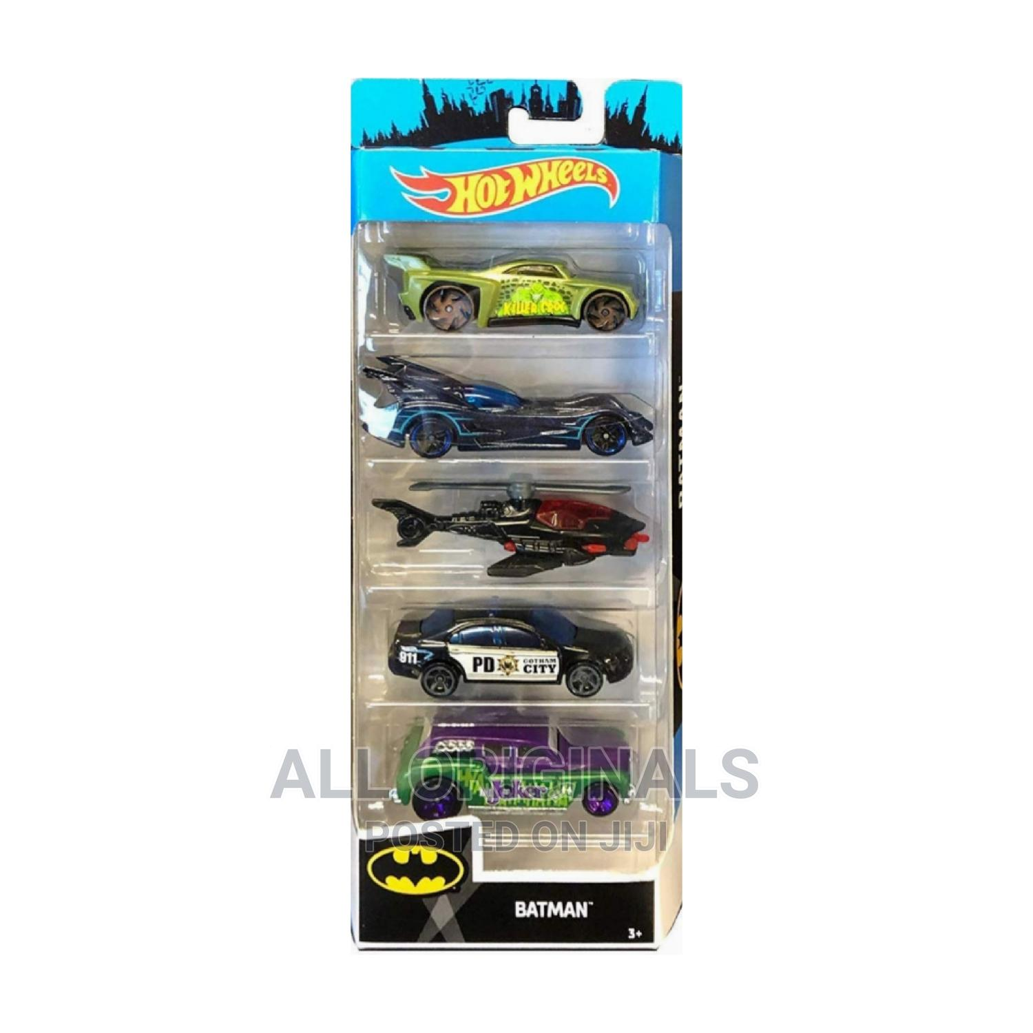 Archive: Kids 5 Hot Wheels Toy Cars