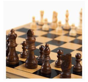3 in 1 Chess, Backgammon and Checkers Size of 42cm*42cm | Books & Games for sale in Addis Ababa, Bole