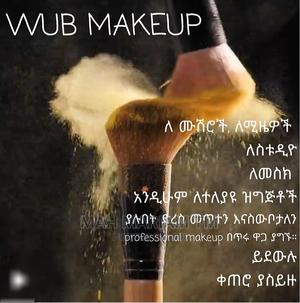 WUB Pro Makeup Service   Health & Beauty Services for sale in Addis Ababa, Lideta