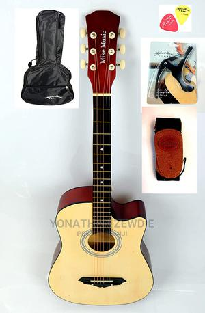 38 Inch Mike Music Acoustic Guitar | Musical Instruments & Gear for sale in Addis Ababa, Nifas Silk-Lafto