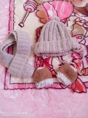 Babies Crochet Hand Made Hats and Scarf | Children's Clothing for sale in Addis Ababa, Arada