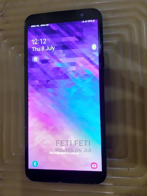 Samsung Galaxy A6 Plus 64 GB Black   Mobile Phones for sale in Addis Ababa, Addis Ketema