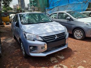New Mitsubishi Attrage 2021 Silver   Cars for sale in Addis Ababa, Lideta