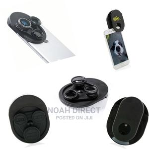 DEPOK - Universal Lens System for Smartphone 4-In-1 Black | Accessories for Mobile Phones & Tablets for sale in Addis Ababa, Bole