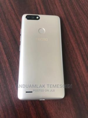 Tecno Pop 2F 16 GB Gold | Mobile Phones for sale in Addis Ababa, Arada