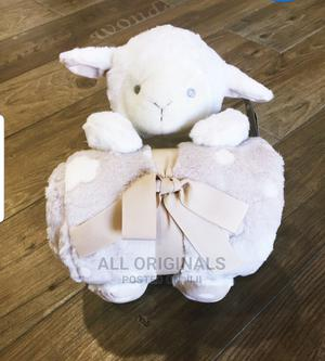 Fleece Blanket With Cuddle Toy - Sheep | Baby & Child Care for sale in Addis Ababa, Bole