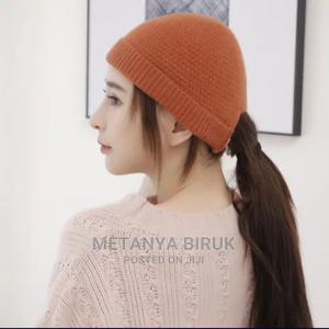 Women and Men Double Layered Elastic Winter Beanie Hats | Clothing Accessories for sale in Addis Ababa, Bole
