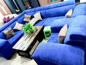 Brand New Large L-Shaped Sopha (You Can Use) | Furniture for sale in Addis Ababa, Bole