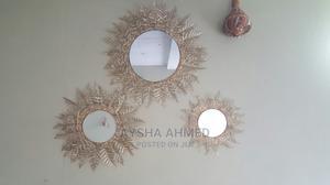 Golden Mirror | Home Accessories for sale in Addis Ababa, Kolfe Keranio