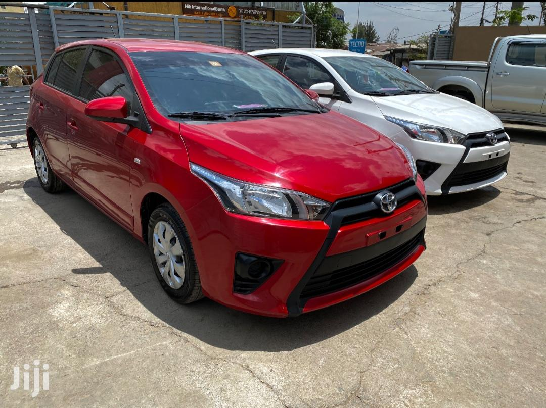 Toyota Yaris 2016 Red | Cars for sale in Bole, Addis Ababa, Ethiopia