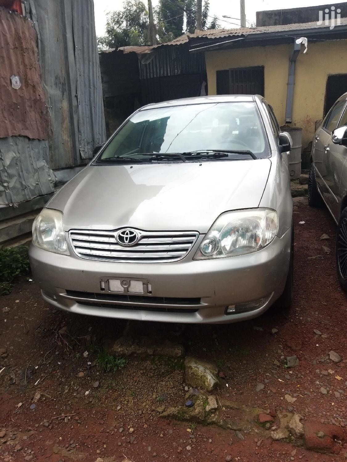 Toyota Corolla 2003 Verso Automatic Gold | Cars for sale in Lideta, Addis Ababa, Ethiopia