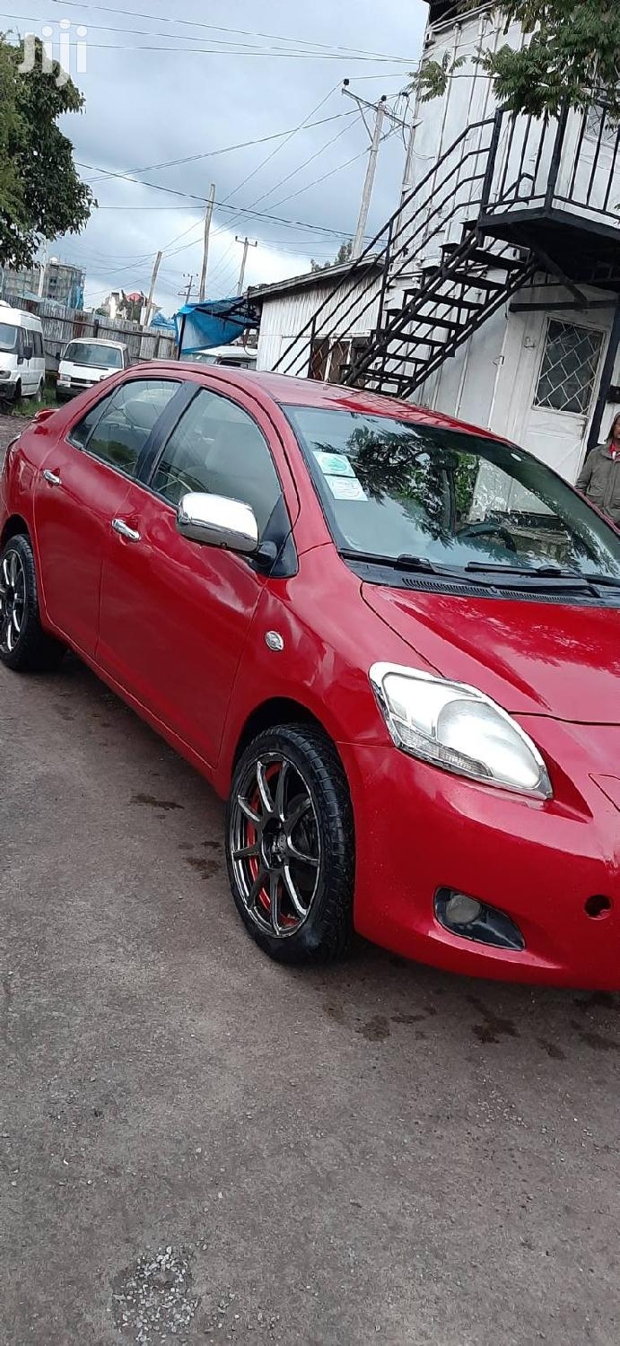 Archive: Toyota Yaris 2007 1.3 VVT-i Automatic Red