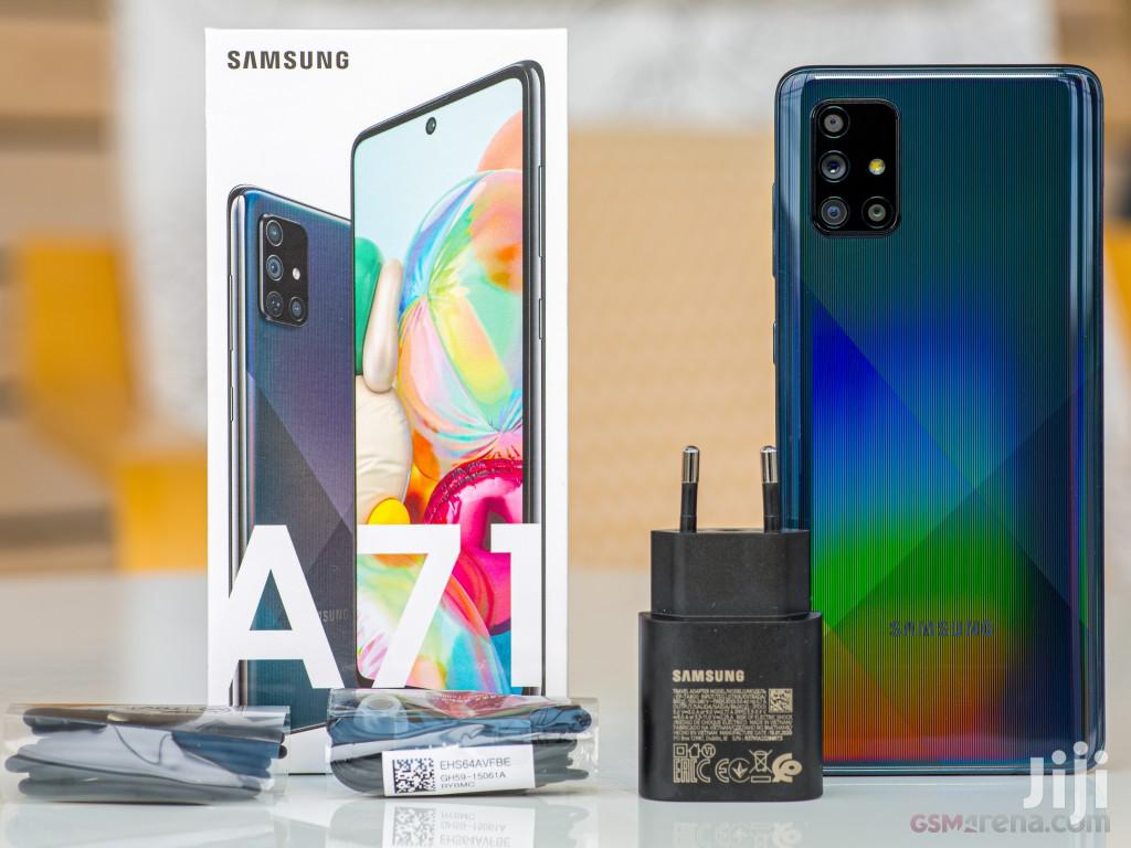 New Samsung Galaxy A71 128 GB Blue | Mobile Phones for sale in Yeka, Addis Ababa, Ethiopia