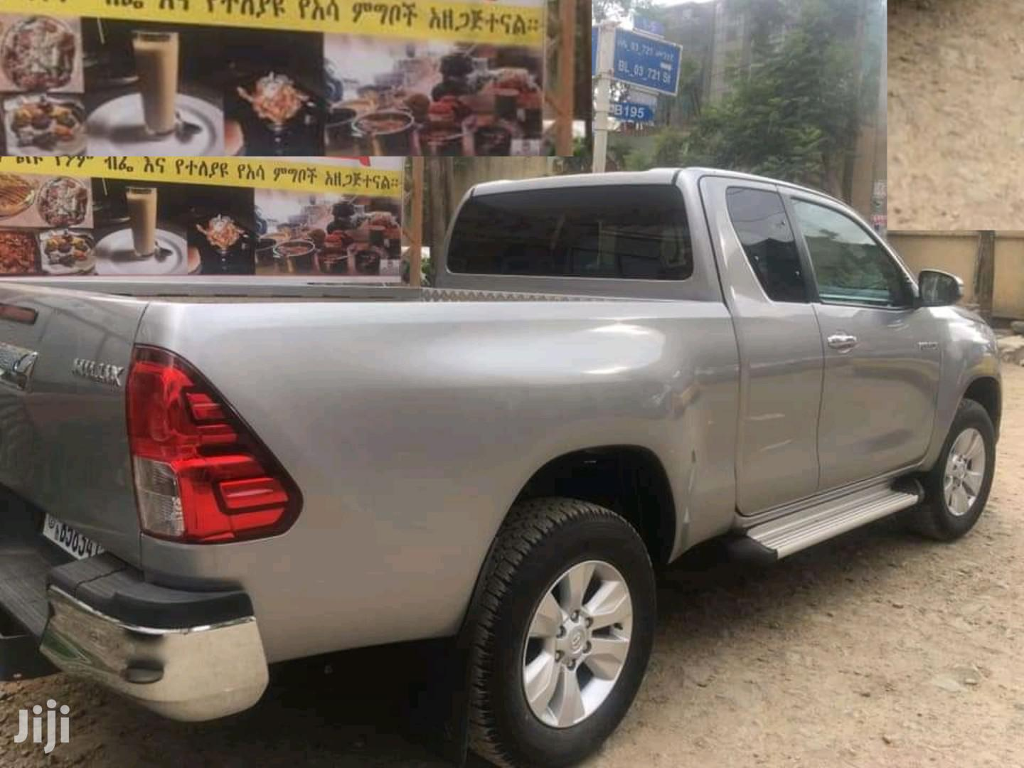 Archive: Toyota Hilux 2019 Silver