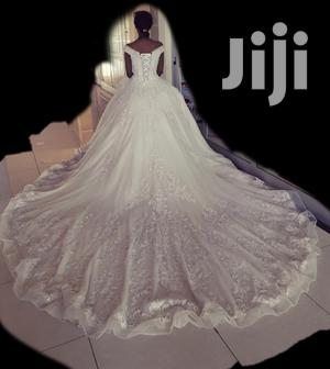 Champagne Wedding Dress For Rent   Wedding Wear & Accessories for sale in Addis Ababa, Bole